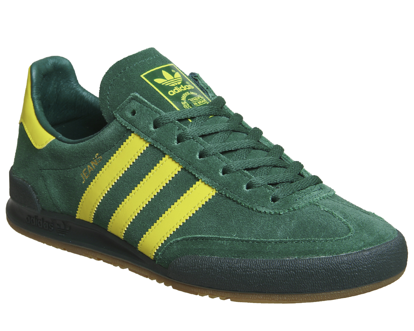green adidas trainers